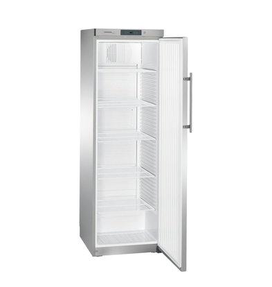 Liebherr Stainless steel refrigerator Gastronomy | Small 60cm wide | Liebherr | 434 Liter | GKN 4360 | 600x680x1900 (h) mm