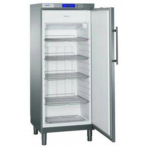 Liebherr Freezer Stainless Gastronomy on Legs | Liebherr | 478 Liter | 2 / 1GN | GGv 5060 | 75x75x (h) 186cm
