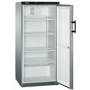 Liebherr Kühlschrank Steelgray Gastronomie | Liebherr | 445 Liter | 2 / 1GN | Gkvesf 5445 | 75x73x (h) 164cm