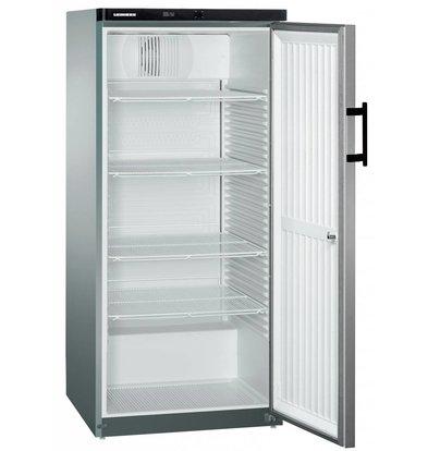 Liebherr Kühlschrank Steelgray Gastronomie | Liebherr | 445 Liter | 2/1 GN | Gkvesf 5445 | 75x73x (h) 164cm