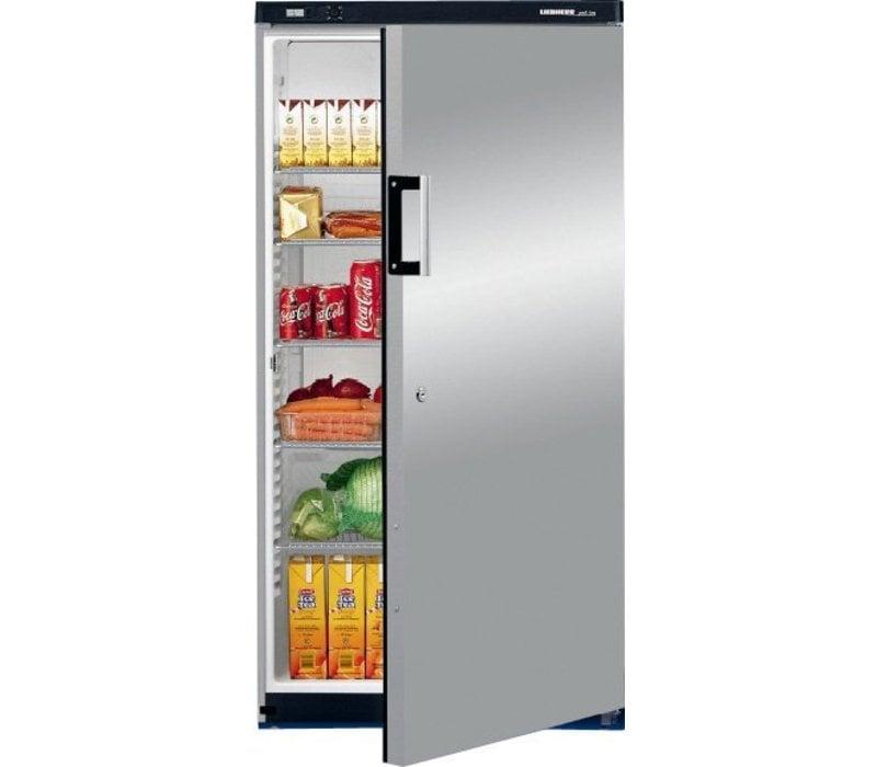 Liebherr Refrigerator Steelgray Gastronomy | Liebherr | 445 Liter | 2 / 1GN | Gkvesf 5445 | 75x73x (h) 164cm