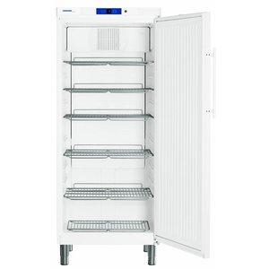 Liebherr Kühlschrank Weiß Gastronomie mit Standfüßen | Liebherr | 437 Liter | 2 / 1GN | GKv 5730 | 75x75x (h) 186cm