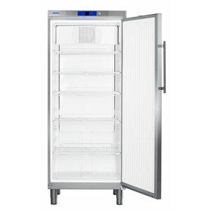 Liebherr Kühlschrank Edelstahl Gastronomie Beine | Liebherr | 437 Liter | 2/1 GN | GKN 5790 | 75x75x (h) 186cm