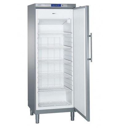 Liebherr Freezer Stainless Gastronomy on Legs | Liebherr | 547 Liter | GGv 5860 | 75x75x (h) 206cm
