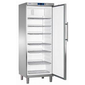 Liebherr Refrigerator Stainless Gastronomy on Legs | Liebherr | 499 Liter | GKN 6460 | 75x75x (h) 206cm