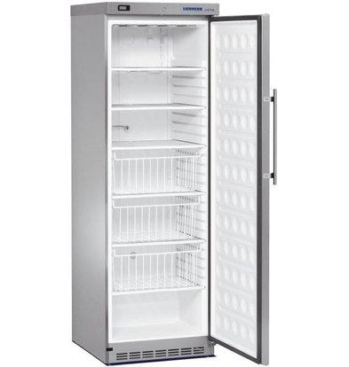Liebherr Freezer Stainless Gastronomy | Small 60cm wide | Liebherr | 382 Liter | GG 4060 | 60x68x (h) 190cm