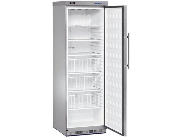 Liebherr Freezer Stainless Gastronomy   Small 60cm wide   Liebherr   382 Liter   GG 4060   60x68x (h) 190cm
