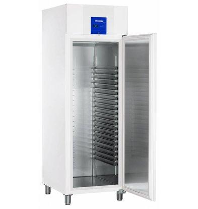 Liebherr Gefrierschrank Bäckerei Standard Weiß Profi Line | 20 Tragschienen - 400x600mm | Liebherr | 601 Liter | BGPv 6520 | 70x83x (h) 215cm