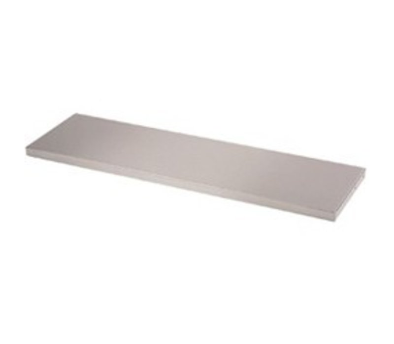 Diamond Stainless steel shelf Top / Middle | 1500mm