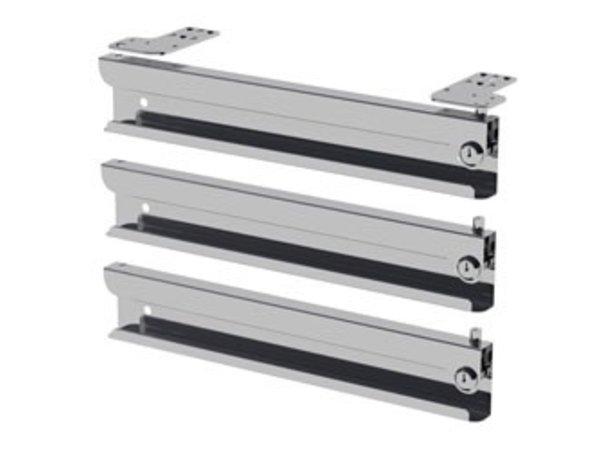 Diamond Option: Set 3 drawers Lock With Key | 3 pieces