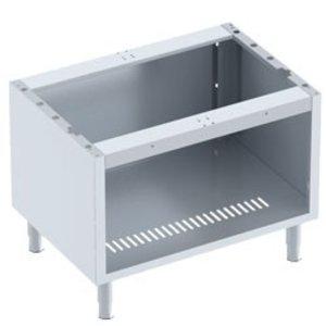 Diamond Open Onderstel RVS | Voor Grill 1/1 Module | 800x600x600(h)mm