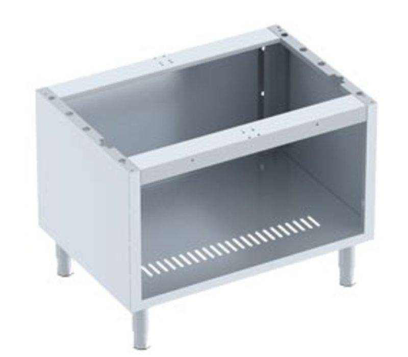 Diamond Open Frame SS | Front Grill 1/1 Module | 800x600x600 (h) mm