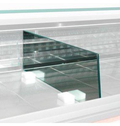 Diamond Scheiding Expositie Glas   800(L)mm