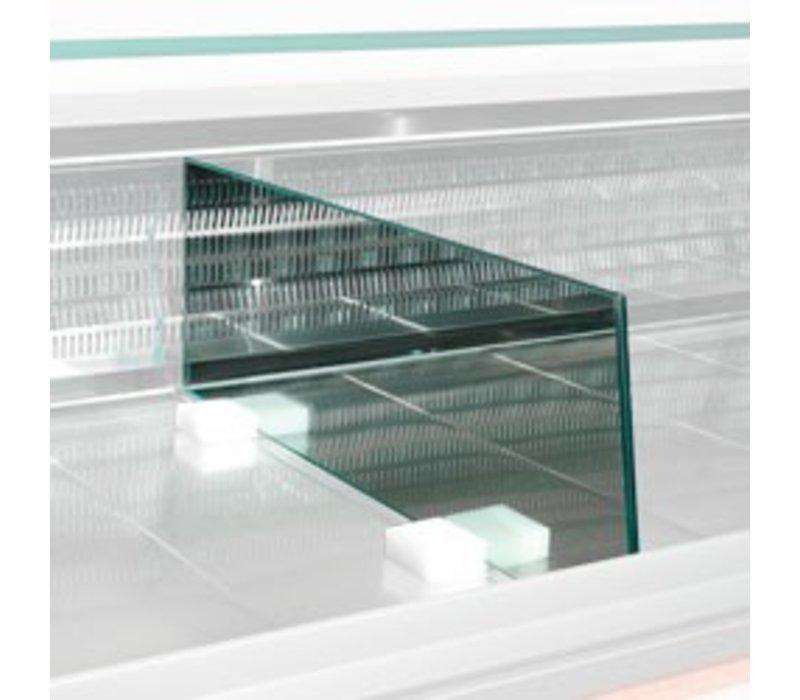 Diamond Scheidung Ausstellung Glas | 600 (L) mm