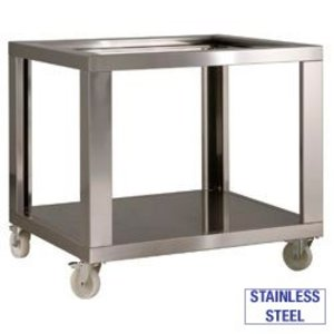 Diamond Stainless steel chassis with wheels + 2 With Brake | 1070x1200x950 (h) mm