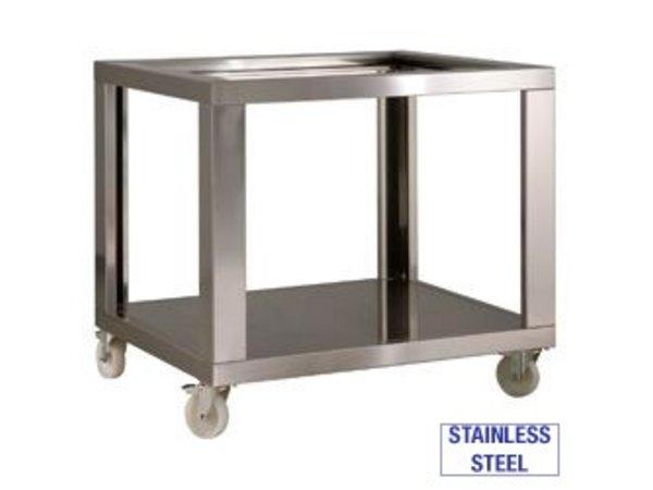 Diamond Gehäuse aus Edelstahl mit Rädern + 2 mit Bremse | 1070x1200x950 (h) mm