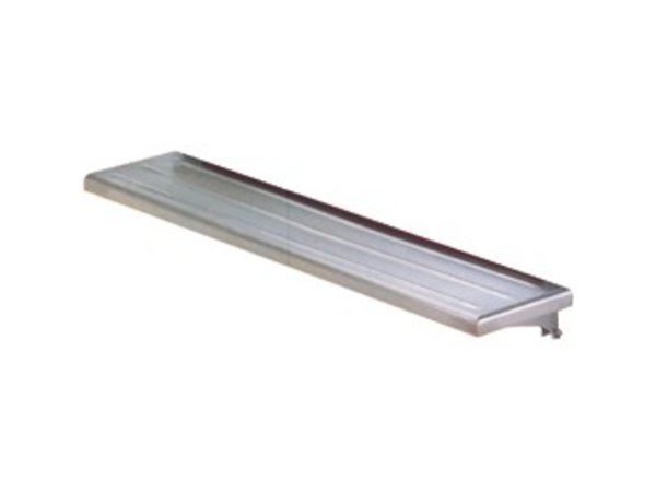 Diamond Collapsible Stainless Steel Slide Trays | 1500x300mm