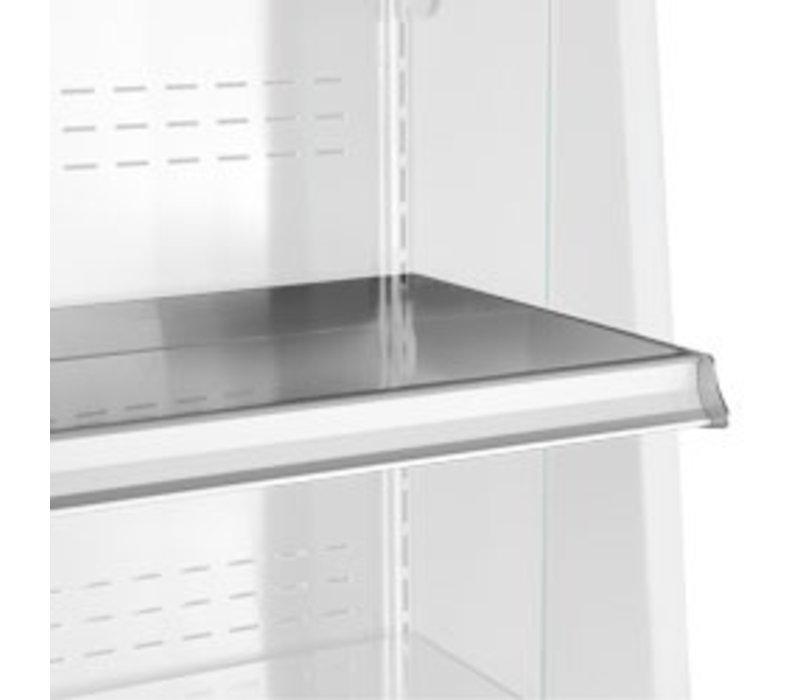 Diamond Stainless steel shelf Small | 1000mm