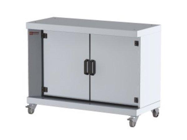 Diamond Unter Kabinett auf Rädern | 1200x500x900 (h) mm