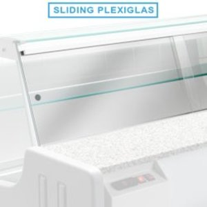 Diamond Plexiglass doors Va Snack | 2000mm
