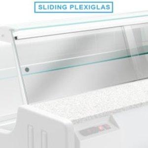 Diamond Plexiglass doors Va Snack | 1500mm
