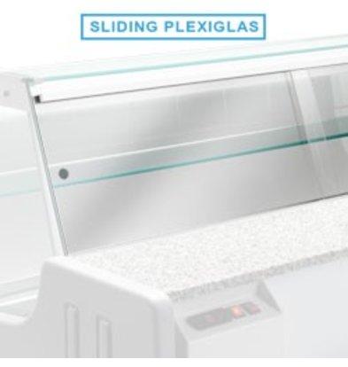 Diamond Plexiglas Doors Orleans   1500mm