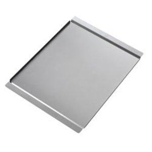 Diamond Gladde Plaat RVS   600x400mm