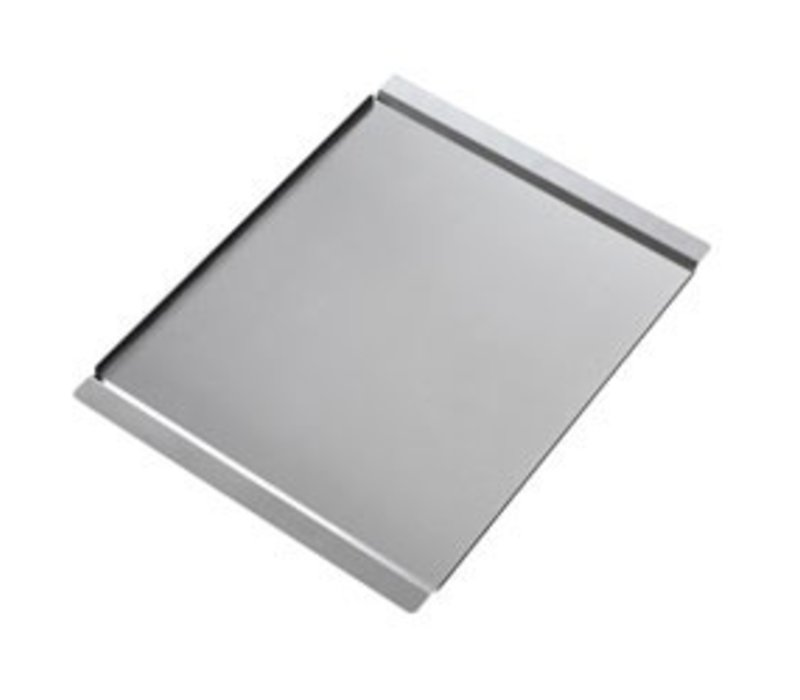 Diamond Smooth stainless steel plate | 600x400mm