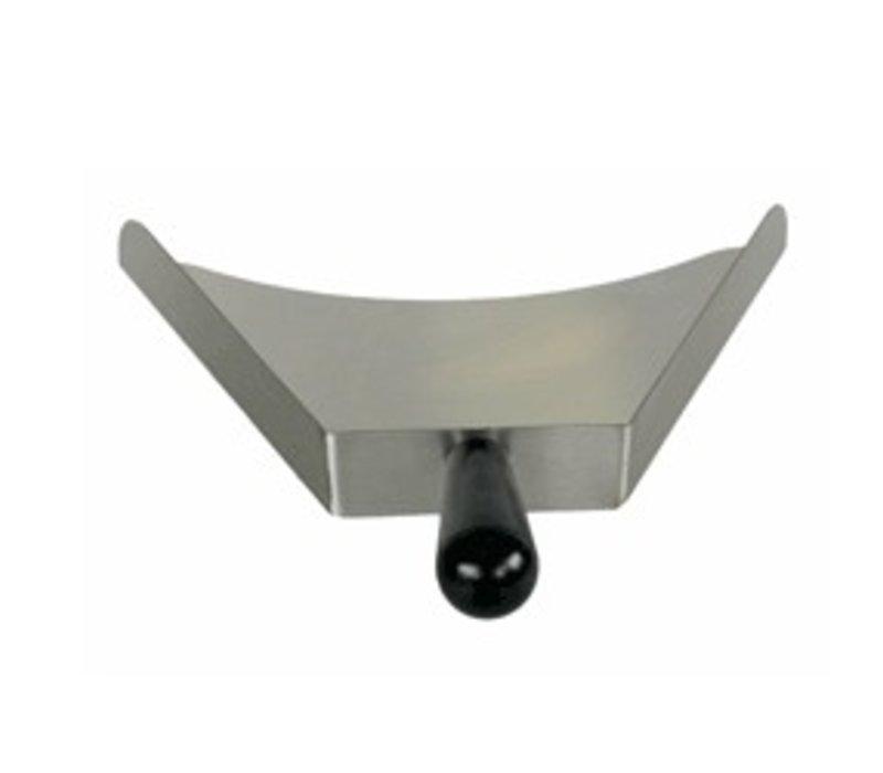 Diamond Stainless steel scoop | thermal Handle