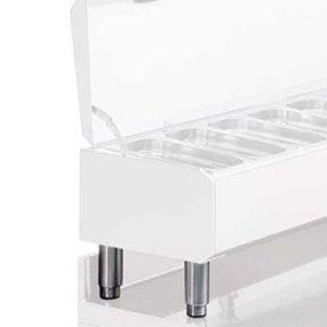 Diamond Kit 4 Poten RVS | Regelbaar | 155/195(h)mm