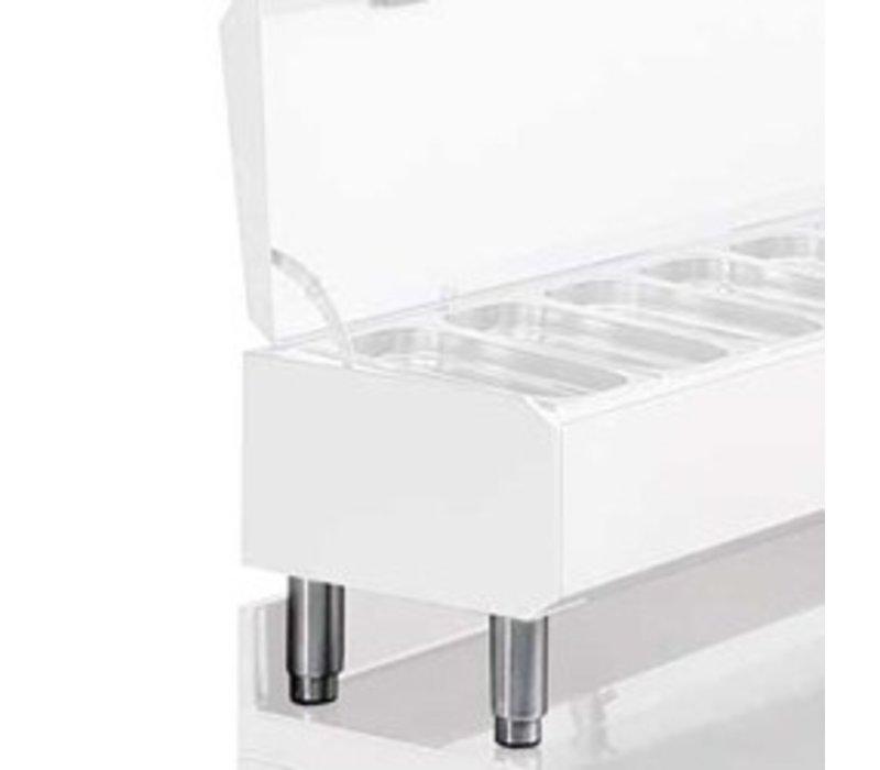 Diamond Kit 4 Paws SS | adjustable | 155/195 (h) mm