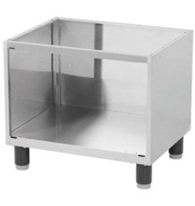 Diamond Open Frame SS   Adjustable Legs   660x530x570 (h) mm