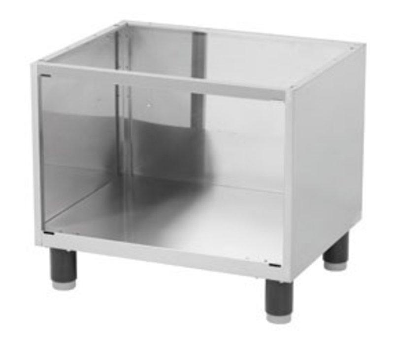 Diamond Open Frame SS | Verstellbare Füße | 660x530x570 (H) mm
