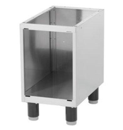 Diamond Open Frame SS   Adjustable Legs   330x530x570 (h) mm
