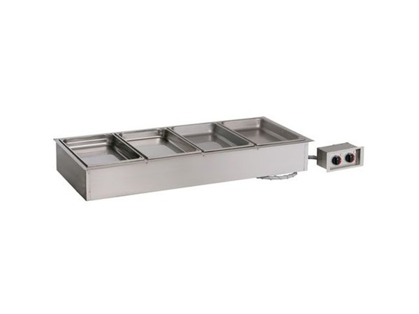 Alto Shaam Dry bain-marie | Alto Shaam 400-HWI / D6 | 2.2kW | Individual Temperature Control | 4x 1 / 1GN 150mm