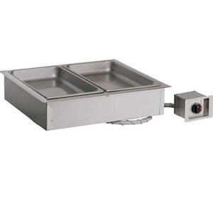 Alto Shaam Dry bain-marie | Alto Shaam 200-HWI / D4 | 2,4kW | Individual Temperature Control | 3x 1 / 1GN 100mm