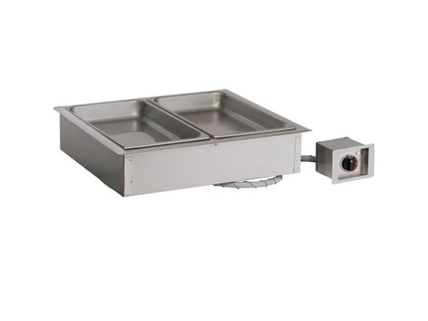 Alto Shaam Dry bain-marie | Alto Shaam 200-HWI / D4 | 2,4kW | Individual Temperature Control | 3x 1 / 1GN 100mm
