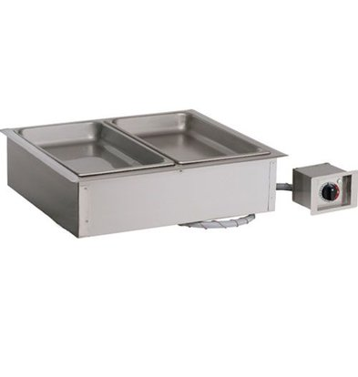 Alto Shaam Dry bain-marie | Alto Shaam 200-HWI / D6 | 1,2kW | Individual Temperature Control | 2x 1 / 1GN 150mm