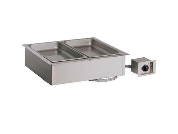 Alto Shaam Dry bain-marie | Alto Shaam 200-HWI / D6 | 1,2kW | Individual Temperature Control | 2x 1 / 1GN 150mm