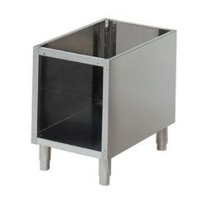 Diamond Open Frame SS | Adjustable legs | 300x490x570 (h) mm