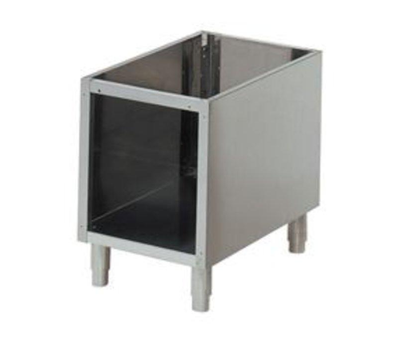 Diamond Open Onderstel RVS | Poten Verstelbaar | 300x490x570(h)mm