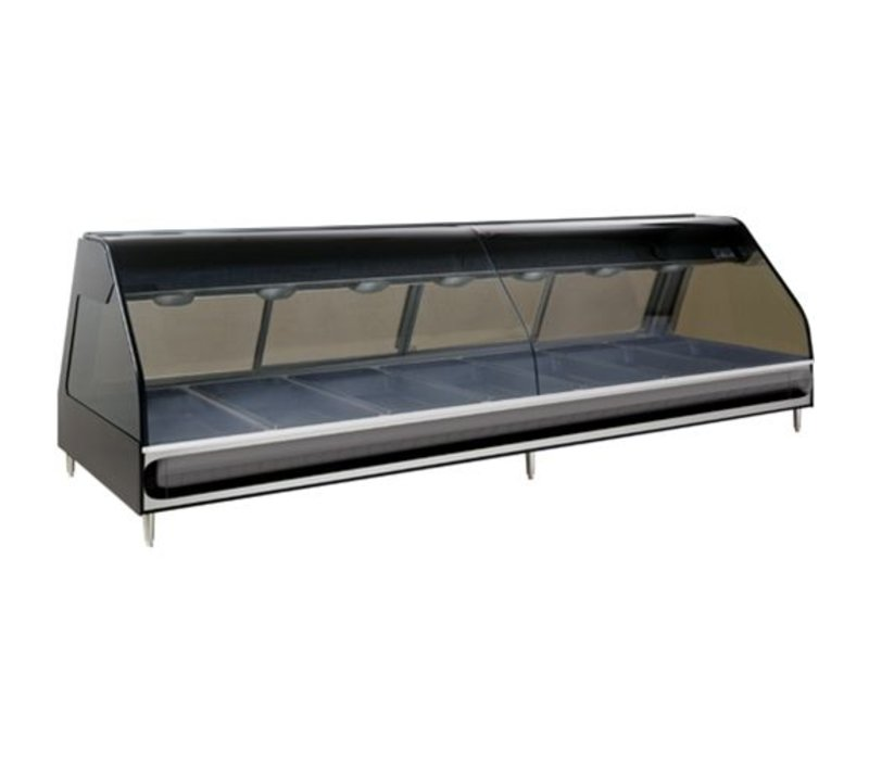 Alto Shaam Heated display case | Alto Shaam ED2-96 Black | electric | 5,7kW | 7x 1 / 1GN and 7x 1 / 3GN