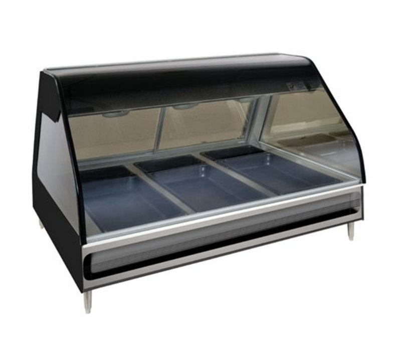 Alto Shaam Heated display case | Alto Shaam ED2-48 Black | electric | 2,9kW | 3x 1 / 1GN and 3x 1 / 3GN