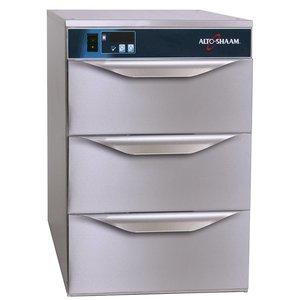 Alto Shaam Warmhoudladen 3 Laden | Alto Shaam 500-3DN | Elektrisch | 590W | Smalle Uitvoering