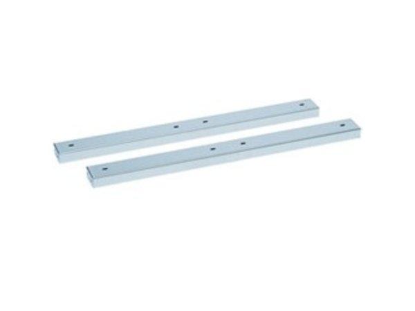 Diamond Support Bridge SS   400x100x50 (h) mm