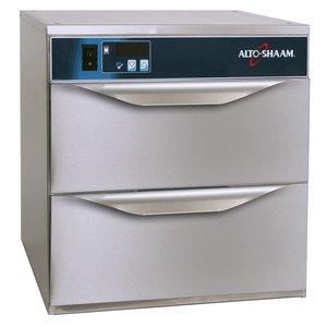 Alto Shaam Warmhoudladen 2 Laden | Alto Shaam 500-2DN | Elektrisch | 590W | Smalle Uitvoering