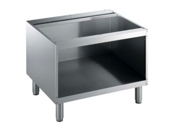 Diamond Open Frame SS   800mm   Adjustable legs   800x550x600 (h) mm