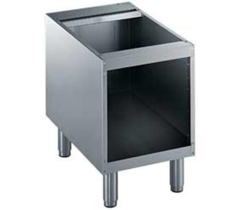 Diamond Open Onderstel RVS   400mm   Poten Regelbaar   400x550x600(h)mm