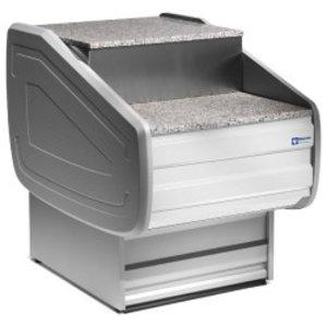 Diamond Kassierer Abschnitt 700mm | 700x1060x660 / 990 (H) mm