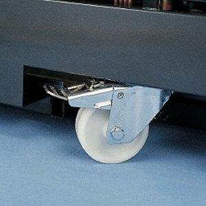 Diamond Kit 4 Zwenkwielen - 2 Met Rem
